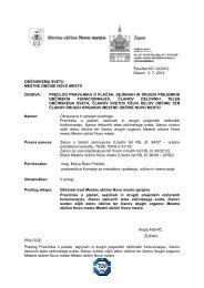 14. Predlog Pravilnika o plačah, sejninah in drugih prejemkih ...