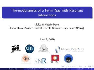 Thermodynamics of a Fermi Gas with Resonant Interactions