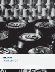 Rexam PLC Annual Report 2011