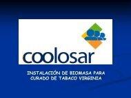 Uso industrial de la Biomasa para secaderos de tabaco - Altercexa