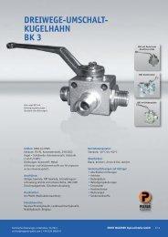 BK3 / SK3 3/2-Wege - Ernst Wagener Hydraulikteile GmbH