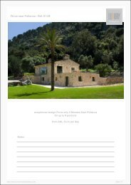 Finca near Pollenca - Ref. 01-09 - Luxury Holidayhomes on Mallorca