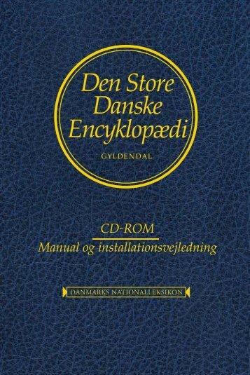 CD-ROM Manual og installationsvejledning - Køb bogen på ...