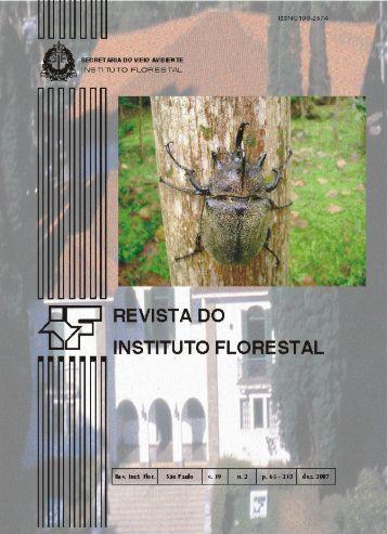 R ih - Instituto Florestal - Governo do Estado de São Paulo