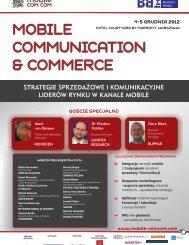 mobile communication & commerce mobile communication ...