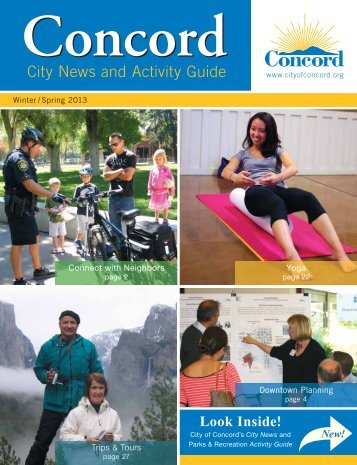 City News and Activity Guide - City of Concord