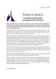 Tisková zpráva - Statutární město Liberec