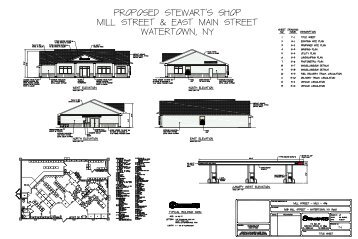 508 Mill St – Site Plan Drawings - Watertown, NY