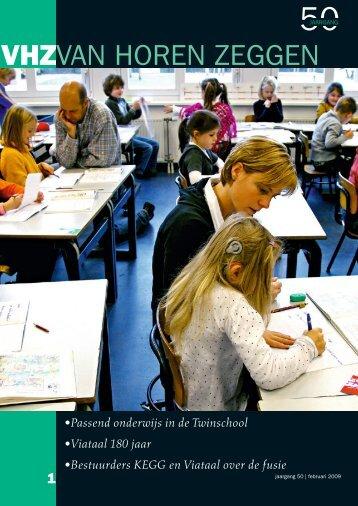 •Passend onderwijs in de Twinschool •Viataal 180 jaar ... - Fenac