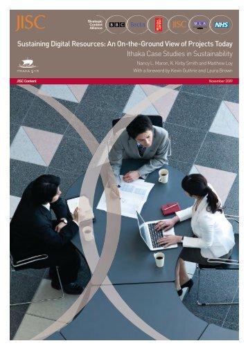 Sustaining Digital Resources - Strategic Content Alliance blog