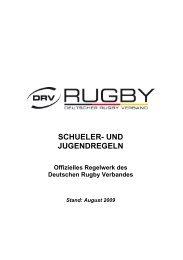 SCHUELER- UND JUGENDREGELN - Karlsruher SV