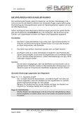 SCHUELER- UND JUGENDREGELN - Karlsruher SV - Page 2