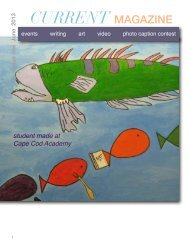June 2013 Issue - Cape Cod Academy