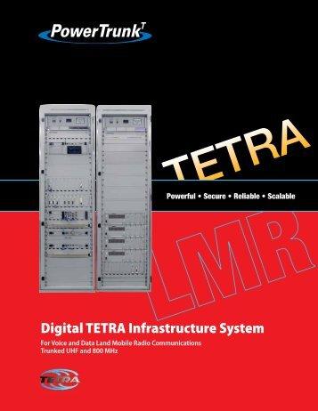 Digital TETRA Infrastructure System - PowerTrunk