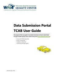 Data Submission Portal TCAB User Guide - WHA Quality Center
