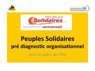 Un pré diagnos c - Peuples solidaires