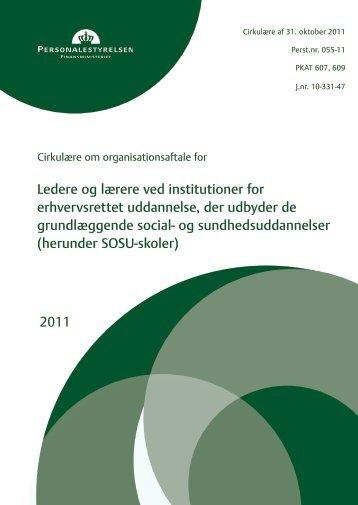 organisationsaftalen for ansatte ved SOSU-skolerne