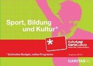 Sport, Bildung und Kultur* - KulturLegi