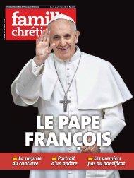 Les premiers pas du pontificat Portrait d'un apôtre La surprise du ...