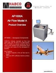 AF1000A Air Flow Model A - Habco