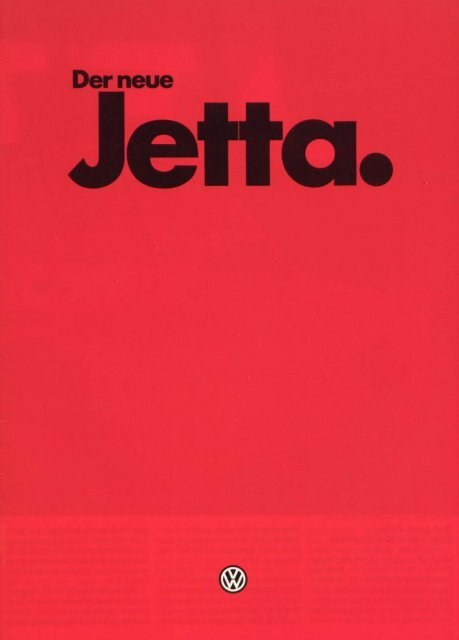 Jetta II Jetta II - 01/1984 - Volkswagen Classic