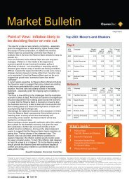 Point of View: Inflation likely to be deciding factor on ... - CommSec