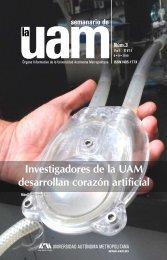 Investigadores de la UAM desarrollan corazón artificial