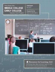 Final Report - TEA - Home School Information - Texas Education ...