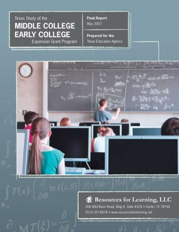 Final Report - TEA - Home School Information - Texas Education ...