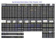 Nye Schneider Electric Bokser i Plast / Polyester - 2010
