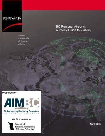 BC Regional Airports - Northwest Corridor Development Corporation