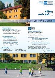 Flexible Stationäre Gruppen (FSG) - Stiftung Jugendhilfe aktiv