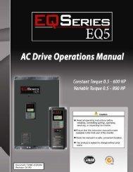 EQ5 Operations Manual - TECO-Westinghouse Motor Company