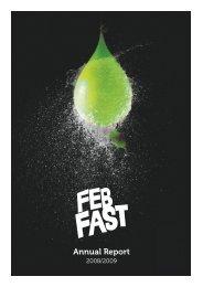 febfast annual report 2008/2009