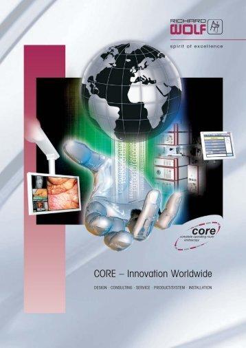 CORE – Innovation Worldwide - Richard Wolf