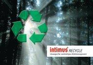 Lösungen für nachhaltiges Abfallmanagement - intimus