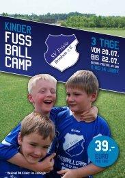 FUssballcamp - SV Brinkum