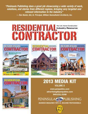 residential residential - Peninsula Publishing