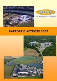 Rapport annuel 2007 (527 Ko) - SIFCO