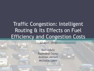 Traffic Congestion - Climateknowledge.org