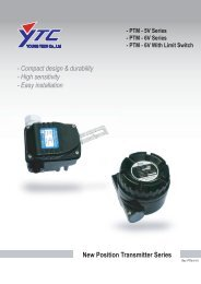 New Position Transmitter Series - Aryan Pajouhesh Eng. Co.