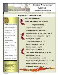 September/October 2009 - Northville Parks and Recreation