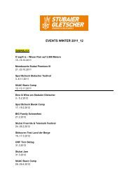 EVENTS WINTER 2011 12