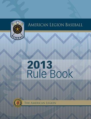 Dixie Youth Baseball Rule Book 2012