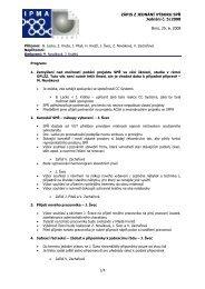 Zápis z jednání výboru č. 17 ze dne 25.06.2008 - IPMA