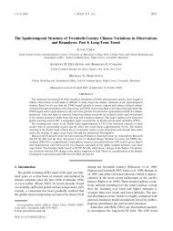 Long-Term Trend - Climateknowledge.org