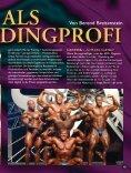 Das Leben als Bodybuildingprofi. Von Berend Breitenstein. - Seite 2