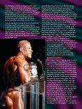 Das Leben als Bodybuildingprofi. Von Berend Breitenstein. - Seite 3