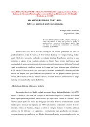Os Manifestos de Portugal. Reflexões acerca de um Estado moderno