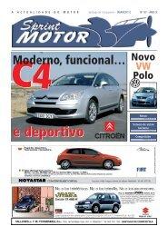 moderno, funcional e deportivo - Sprint Motor